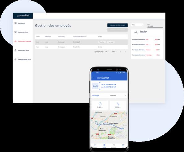 suivi kilometres apps web mobile