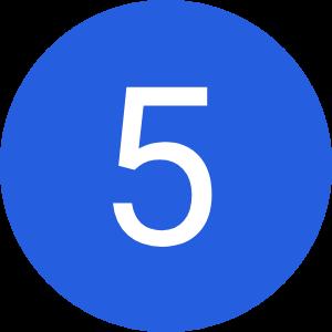 Étape 5